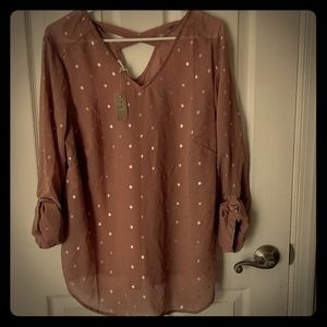 Sheer top from Maurices